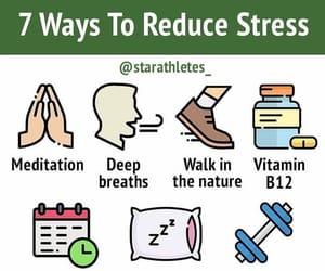 meditation, reduce, and sleep image