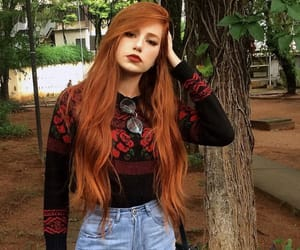 hair, red, and bueno image