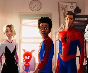 spider-man and into the spider-verse image