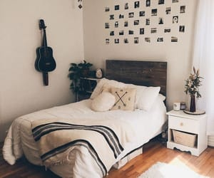 bedroom, black, and couple image