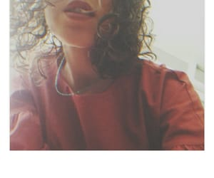 curly, hair, and me image