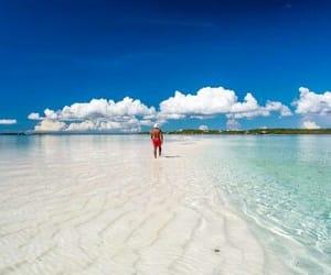 bahamas, beach, and beautiful image