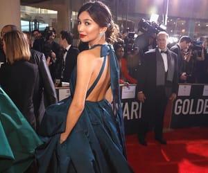 actress, beautiful, and blue image