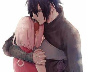 sasusaku, sakura, and sasuke uchiha image