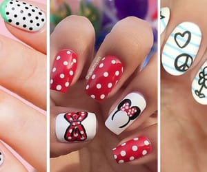 article, uñas decoradas, and manicura image