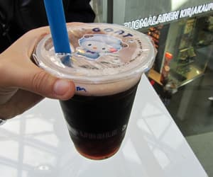 bubble tea, drink, and happy image