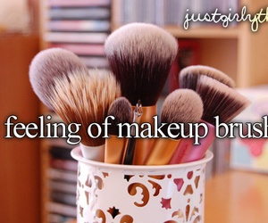 Brushes, makeup, and justgirlythings image