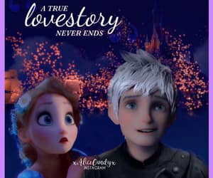frost, jack frost, and elsa image