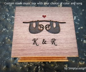 music box, gift for her, and personalized gift image