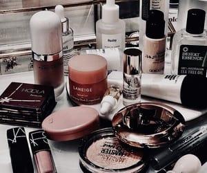 cosmetics, eyeshadow, and girl image
