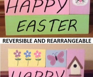easter bunny, happy easter, and easter basket image
