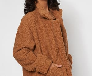 blogger, brown, and coat image