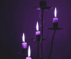 purple and candle image