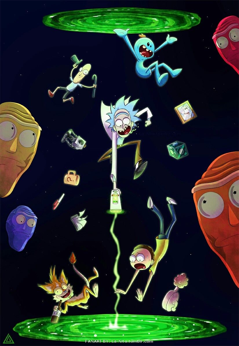 Rick And Morty Uploaded By At Ifixe On We Heart It