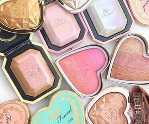 highlight, make up, and too faced image
