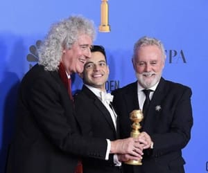 golden globes, Queen, and 2019 image