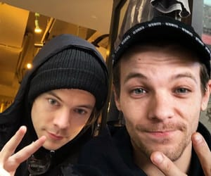 larry, louis tomlinson, and larry is real image