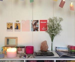 alternative, art, and bedroom image