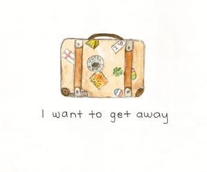 travel, away, and get away image