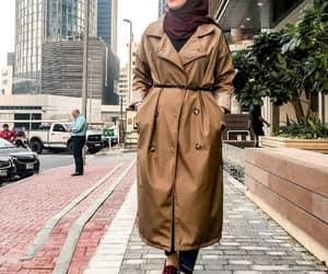 parka jacket hijab image