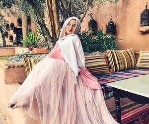 fashion, moroccan, and hijab image