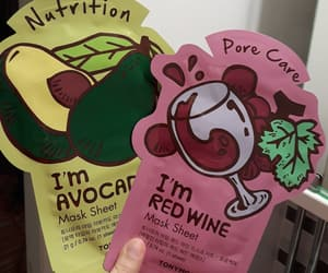avocado, cosmetic, and korea image