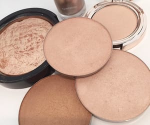 beauty, beige, and highlighters image