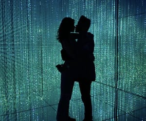 couple, the weeknd, and bella hadid image