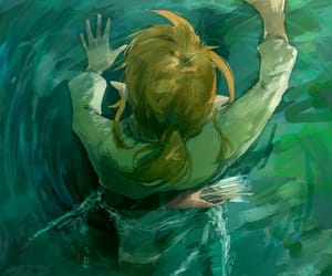 fish, breath of the wild, and fishing image