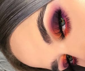 beauty, makeup, and colors image