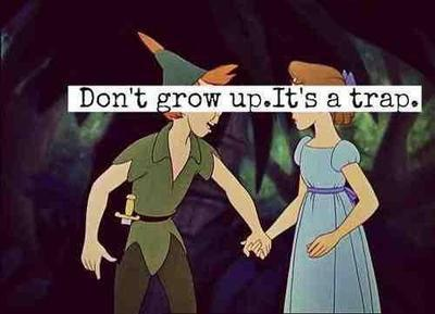 article, youngforever, and never grow up image