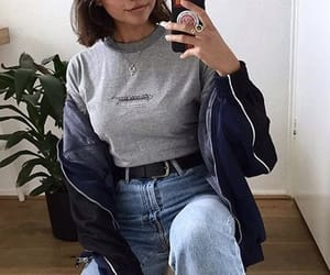 aesthetic, fashion, and jeans image