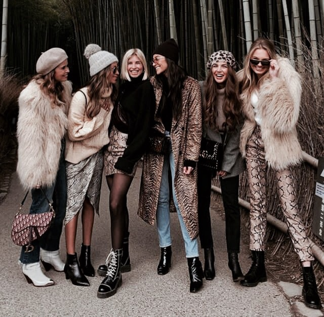 fashion, friends, and model image