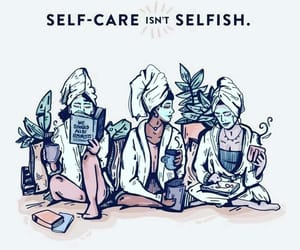 self care, quotes, and selfcare image