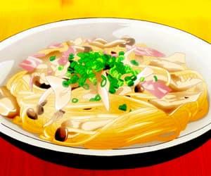 gif, anime, and anime food image