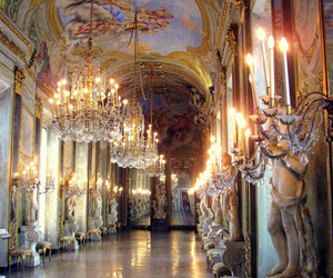hall, palace, and versailles image