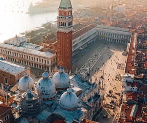 aerial photography, city, and historical image