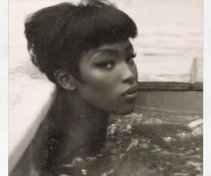 model and Naomi Campbell image