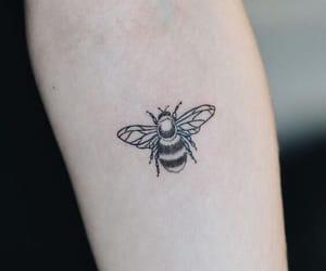 tattoo, bee, and art image