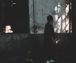 abandoned, rabbit, and ruins image