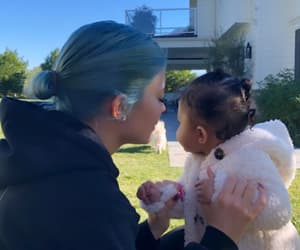 stormi and kylie jenner image