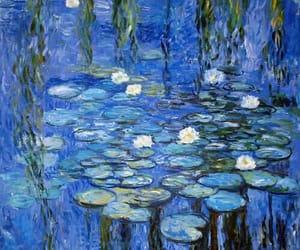 art, beautiful, and lake image