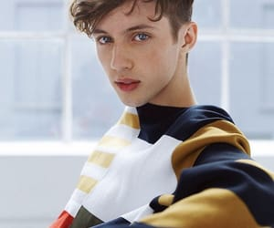 black and white, singer, and troye sivan image