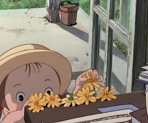 anime, japan, and となりのトトロ image