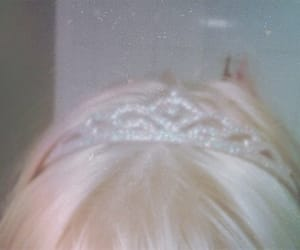 aesthetic, princess, and blonde image