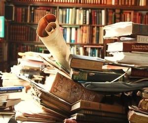 biblioteca, cultura, and libros image
