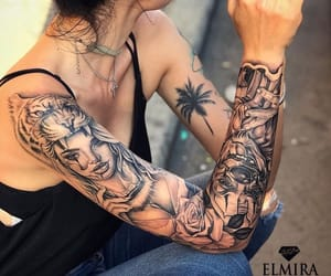 ink, sleeve, and tat image