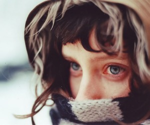 blue eyes, eyes, and cold image