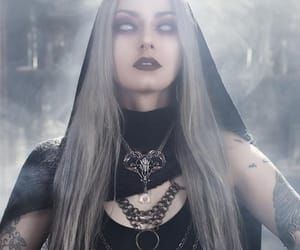 black, sorcery, and fantasy image