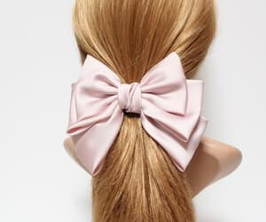 big hair bow, hair bow for women, and hairbowforwomen image